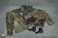 TC 62025 1/6 WWII Soldier Camouflage Uniform Suit Combat Clothing F 12'' Figure