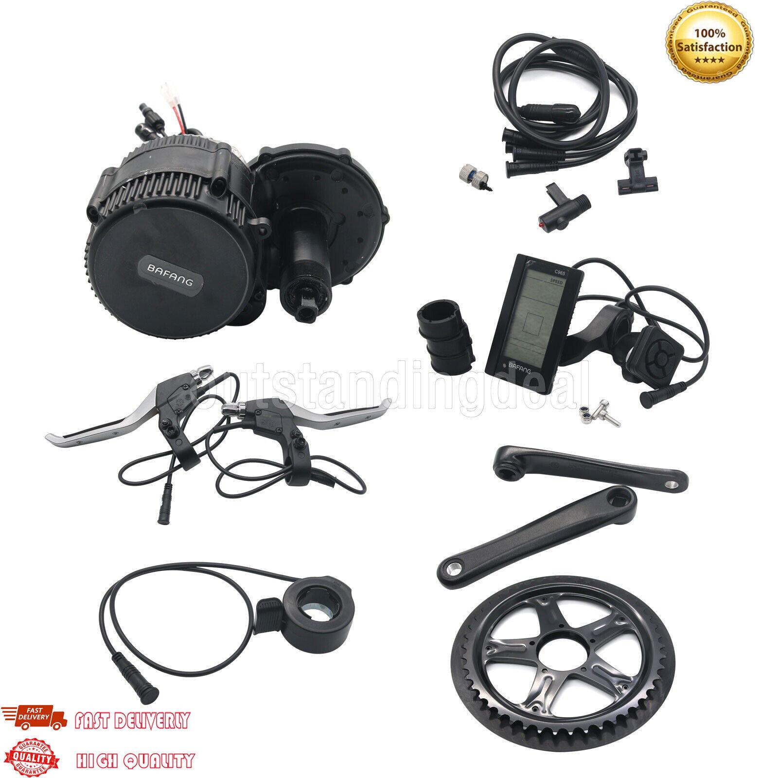 Bbs02 48v 750w 8fun Bafang mid Drive motor Electric Bike conversion kit bb 68mm