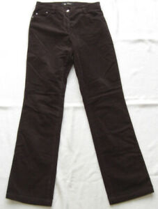 BRAX Ladies Cord Trousers Women's Size 38 L34 Model Anja great condition