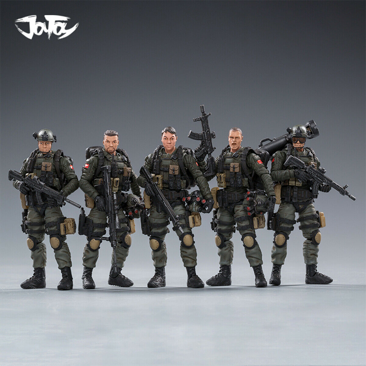 JOYgiocattolo 81911041 118 PLA Army Counter Terrorism Unit specialee Group 5 Movable Fig