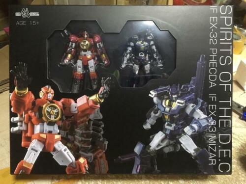 Transformers IronFactory IF EX-32//33 Spirits of The D.E.C Phecda//Mizar in stock