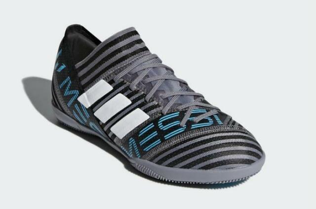 Adidas Nemeziz Tango 17.3 IN J Shoes Boys Youth Gray CP9204 Soccer Casual 1.5
