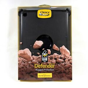 new concept 1e585 36d05 Details about OTTERBOX CASE FOR IPAD 6 2018 IPAD 5 2017 9.7 DEFENDER RUGGED  BLACK NEW 77-55876