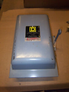New Square D 100 Amp 240v 82253 Type 1 Single Phase Manual Transfer Switch Ebay