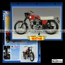 #065.06 Fiche Moto ARIEL 650 FH CYCLONE 1959 Classic Motorcycle Card