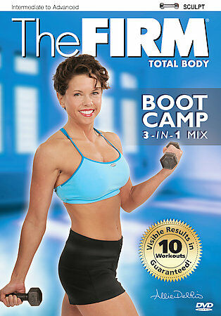 The Firm Boot Camp 3 In 1 DVD, 2006  - $3.52