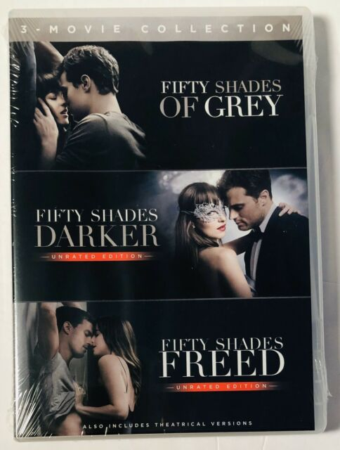 Fifty Shades Of Grey 3-Movie Collection (DVD) BRAND NEW