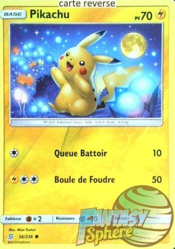 Pokemon VF Français Pikachu Reverse SL11 56//236/_R