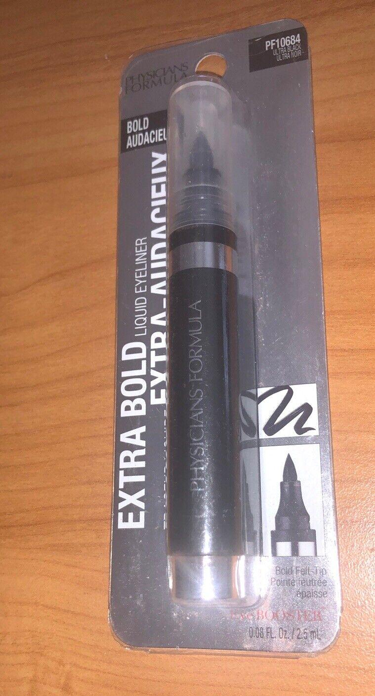 Physicians Formula Extra Bold Liquid Eyeliner- PF9 -Ultra