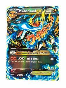 Charizard-69-106-Gold-Tarjeta-De-Coleccion-De-Pokemon-Mega-ex-tarjeta-de-plastico-libre-2-ex
