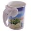 thumbnail 50 - Animal Shaped Handle Ceramic Mug Tea Coffee Cup Novelty Gift Jungle Tropical