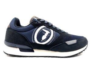 Scarpe da uomo Trussardi Jeans 77A00281 sneakers casual sportive basse stringate