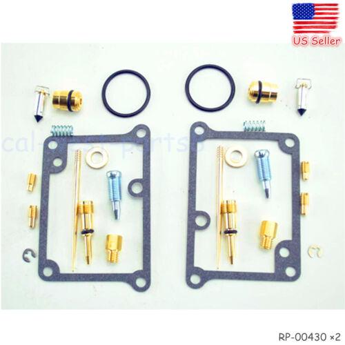 CARBURETOR Carb Rebuild Kit Repair Fits Yamaha Banshee YFZ350 YFZ 350 2 Sets  e3