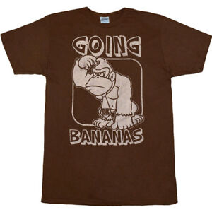 Donkey-Kong-Going-Bananas-T-Shirt
