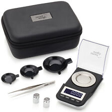 Smart Weigh High Precision Digital Milligram Scalewith Case 50 X 0001grams