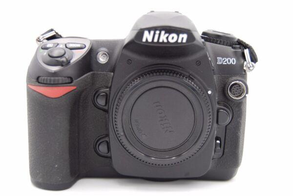 Style De Mode Nikon D200 10,2mp 2.5'' Écran Dslr Caméra Corps Seulement Avec Batterie De Jouir D'Une RéPutation éLevéE Chez Soi Et à L'éTranger