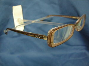 05c365369a9 NEW DG D G DOLCE   GABBANA EYEGLASSES FRAMES 1227 1981 BROWN POWDER ...