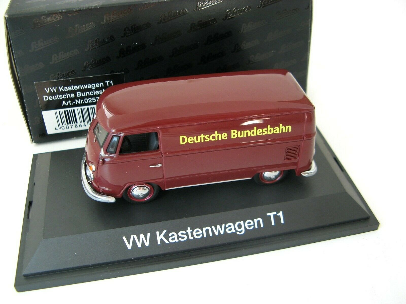 VW T1 kastenwagen  Deutsche Bundesbahn   SCHUCO RARE