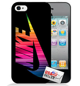 nike cases for iphone 5c nike rainbow swoosh plastic phone for iphone 6 7278