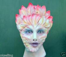 Flower latex female disguise cross dress transgender full head women lady mask