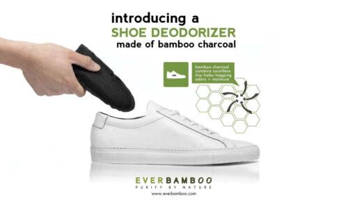 paire par jamais bambou MOSO Bambou Charbon Chaussure deodoriser
