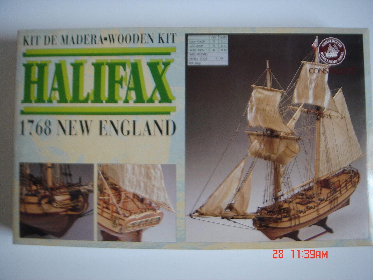 Constructo  HALIFAX 1768 , Escala  1 35 , ref 480826  rentable