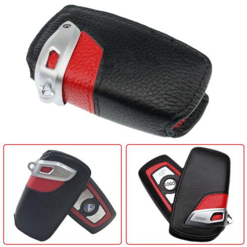 For BMW Sport Line Black Red Genuine Key Case FOB Holder Fits 2 3 5 series x3 x5