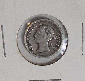 Hong-Kong-1891-5-Cents-silver-H0092-combine-shipping