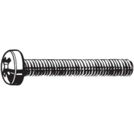 100 pk. FABORY M24660.040.0035 M4-0.7 x 35 mm Pan Head Phillips Machine Screw