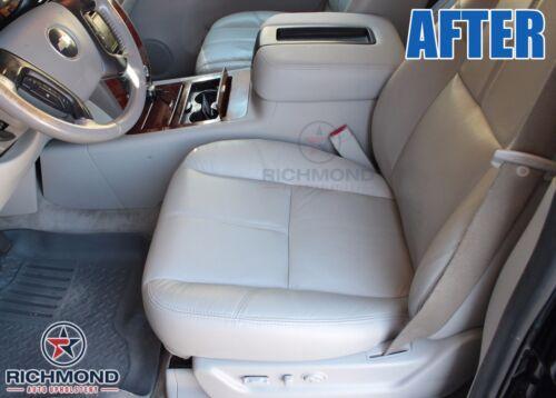 2012 GMC Sierra 1500 2500HD SLT SLE Driver Side Bottom LEATHER Seat Cover Tan