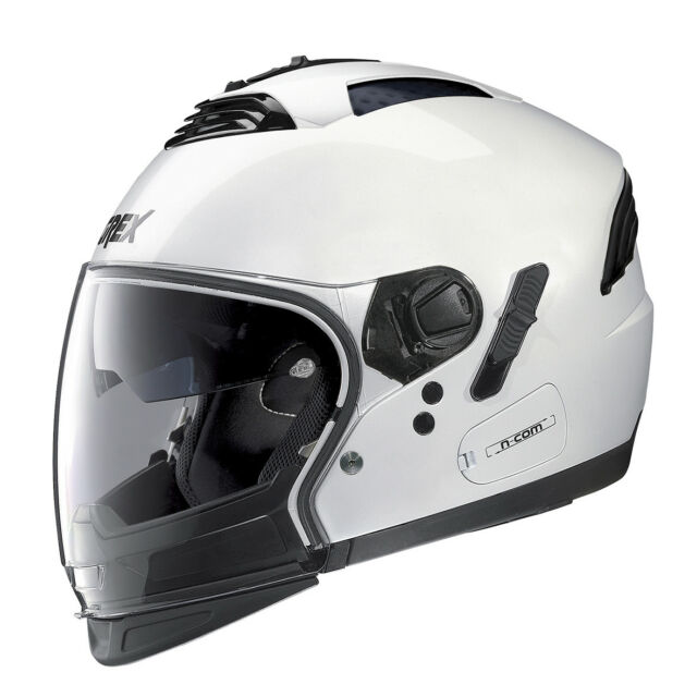 Casque Grex G4.2 Pro Multisegment Kinetic N-Com - 24 Métal Blanc TAILLE S