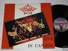 STARZ live in canada LP Heavy Metal Rec. 1985 HARD ROCK