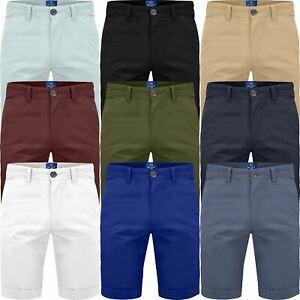 New-Men-Stretch-Chino-Shorts-Summer-Casual-Half-Pant-Cotton-Spandex-Cargo-Combat