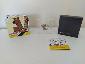 2018-Scooby-Doo-1-oz-Silver-Proof-Coin-Perth-Mint-Aus-Seller