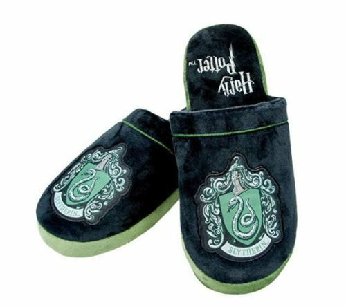 Slytherin Harry Potter Slippers Med UK Size 5-7