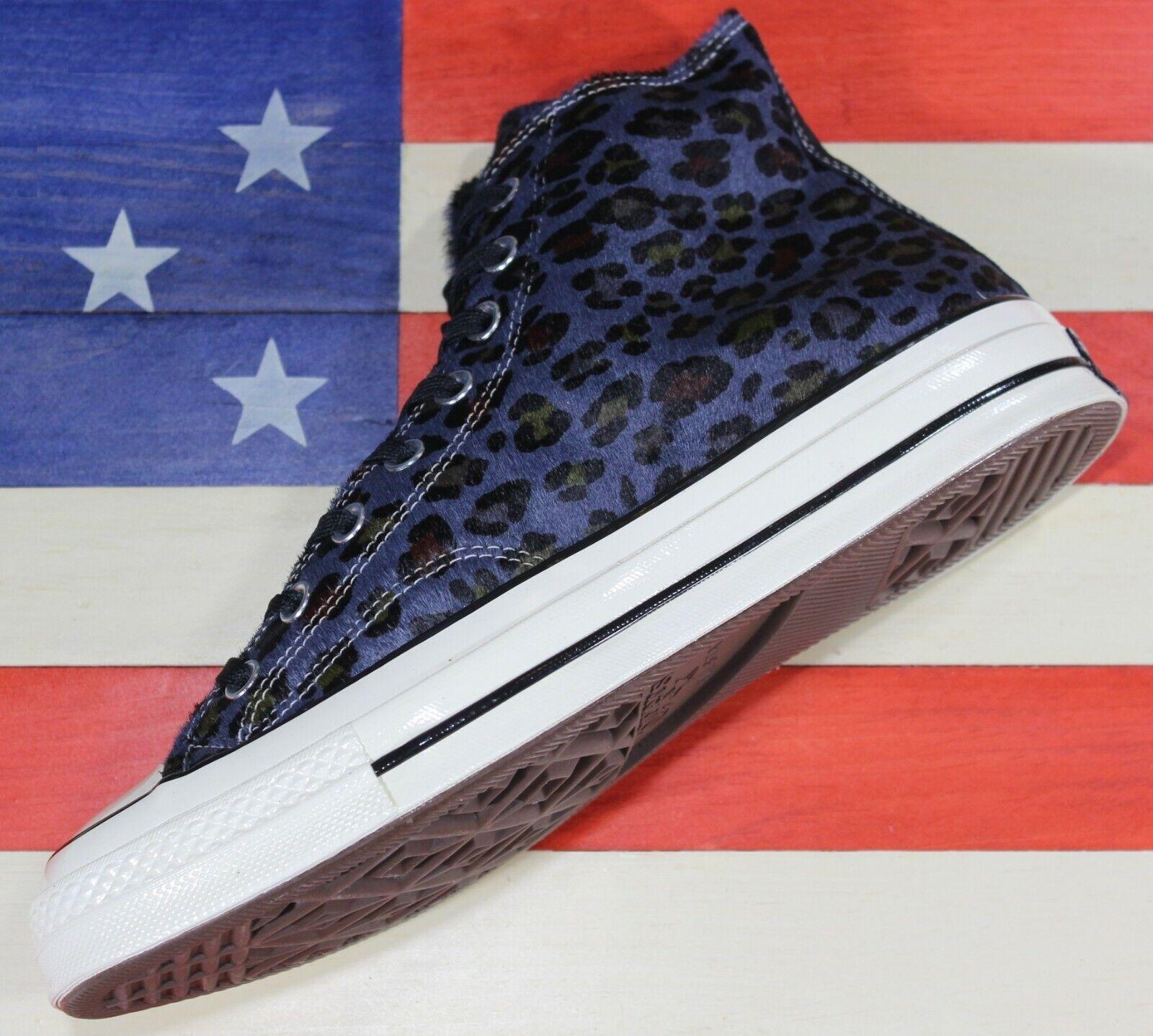 CONVERSE Chuck Taylor SAMPLE ALL-STAR HI Leopard Cheetah Fur chaussures Men 9