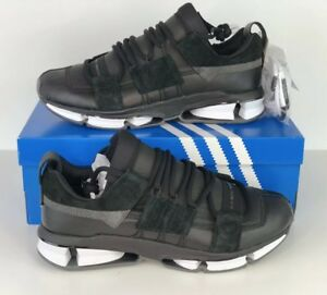 competitive price 72411 e6438 Image is loading adidas-Twinstrike-ADV-Stretch-Leather-Shoes-Core-Black-