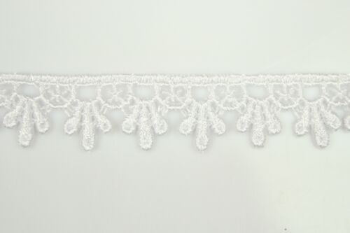 """5//8/"""" Black White Ivory Burgundy Red 12 Colors Venice Lace Trim Guipure By Yard"""