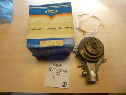 Opel Rekord E D Ascona B 2.0 2.1 2.2 D Diesel Wasserpumpe water pump Dichtung