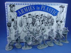 ARMIES-IN-PLASTIC-American-Revolution-French-Army-16-Figures-MIB-FREE-SHIP