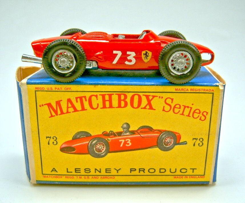 Matchbox RW 73B Ferrari Racing Car red in  D  Box