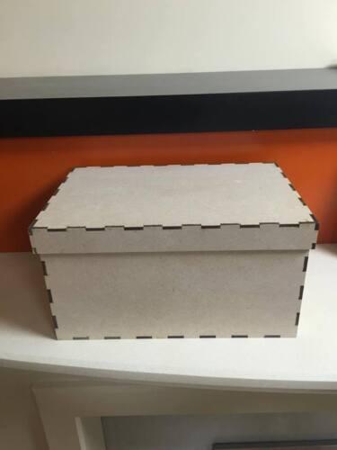Mdf 4MM láser Nochebuena Box 29.5cm X 19.5cm 15.5cm multilisting