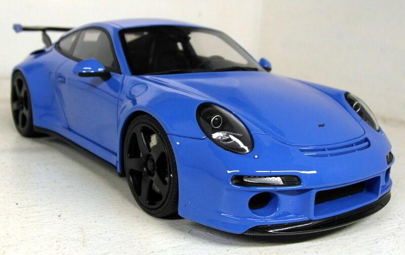 GT SPIRIT échelle 1 18 GT113 RUF RTR Porsche 911 991 bleu resin cast Voiture Modèle