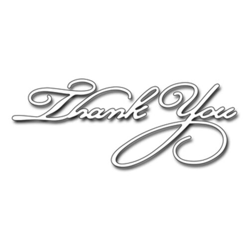 51-122 NEW Stylish Thank You Text Steel Die Cutting Dies PENNY BLACK