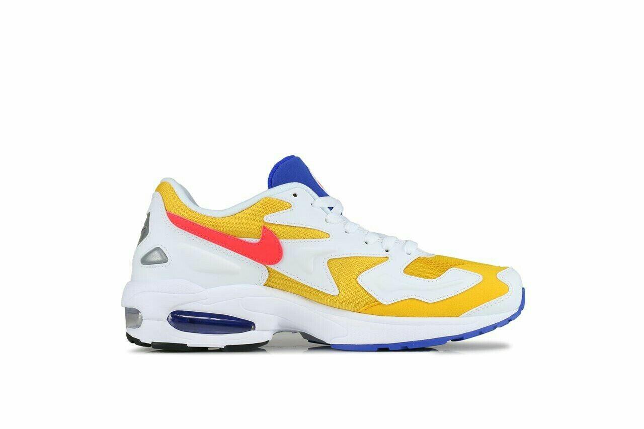 Nike Max2 LightChunky Scarpe da ginnastica ginnastica ginnastica Air Multicoloree Giallo Blu Da Uomo Taglia b0b6cf