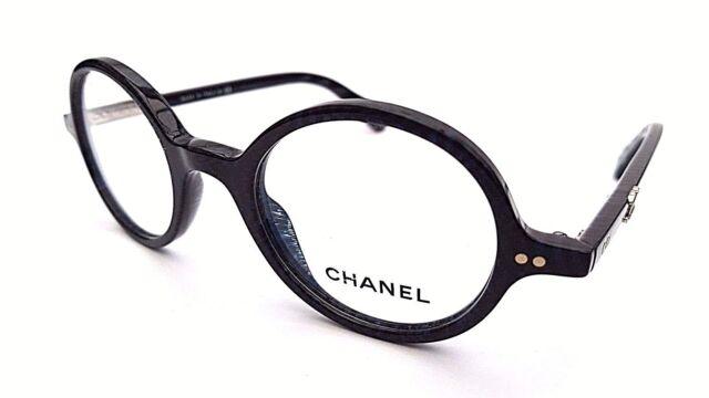 CHANEL Frames Glasses in Dark Blue & Black 32511409 - & Under | eBay