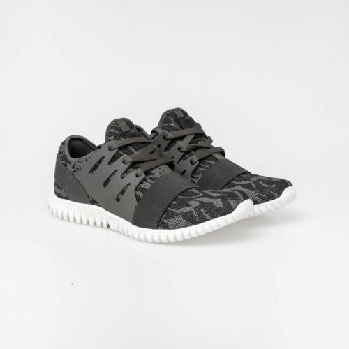 Born Rich Mens Urbo Synthetic Camo Fly-Knit Trainers