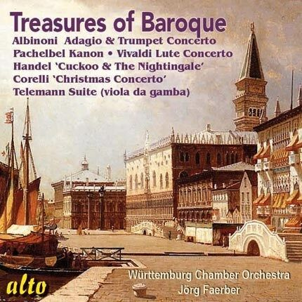 [BRAND NEW] CD: TREASURES OF BAROQUE: WURTTEMBURG CHAMBER ORCH: JORG FAERBER