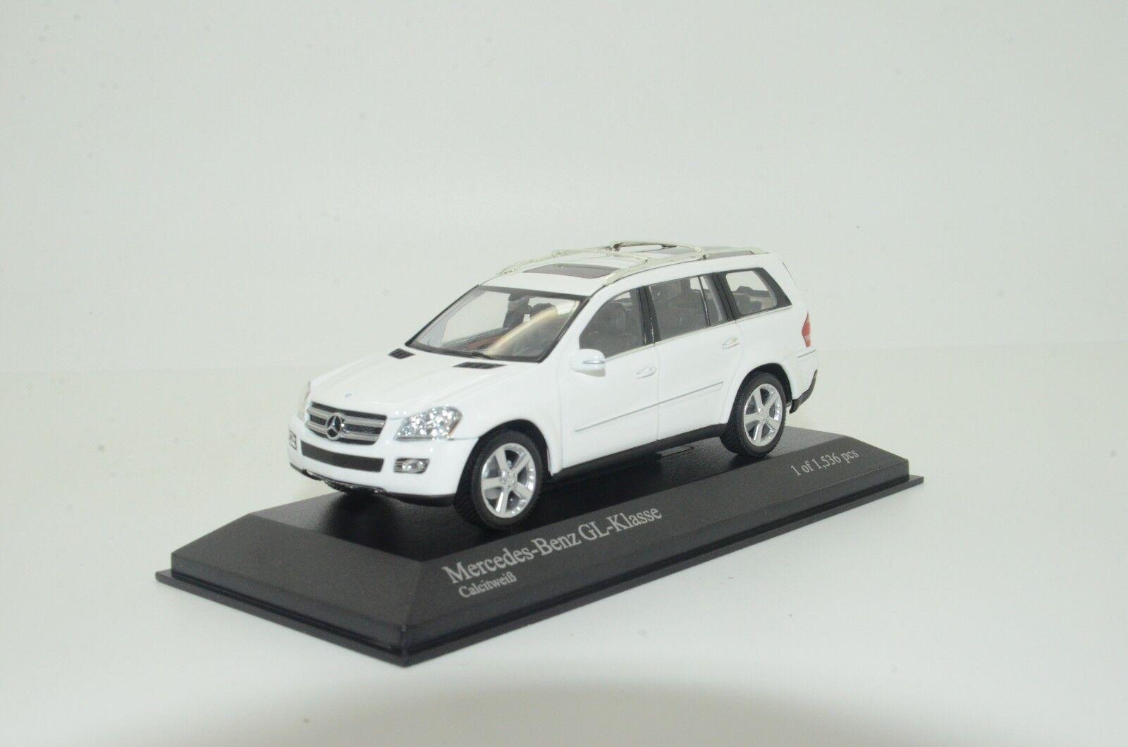 Rare    Mercedes GL-Class 2006 Weiß Minichamps 35000 1 43