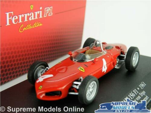 FERRARI 156 MODEL CAR 1:43 SCALE IXO ATLAS F1 COLLECTION VON TRIPS 7174003 K8